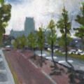 Liverpool Painting No.122.  Queens Wharf