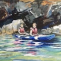 Canoeing with Anna
