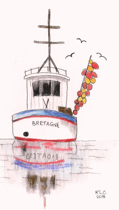 Brittany - Fishing Boat