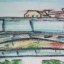 """Sunken"" Garden, Thames Barier Park (2)"