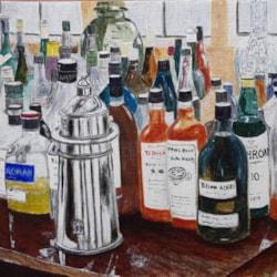 Bottles at Doddington Hall, Lincoln