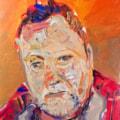 Selfie. Acrylic on 40x30 Canvas