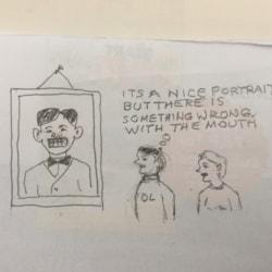 portrait comment