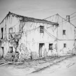 Ruin in Seco de Lucena