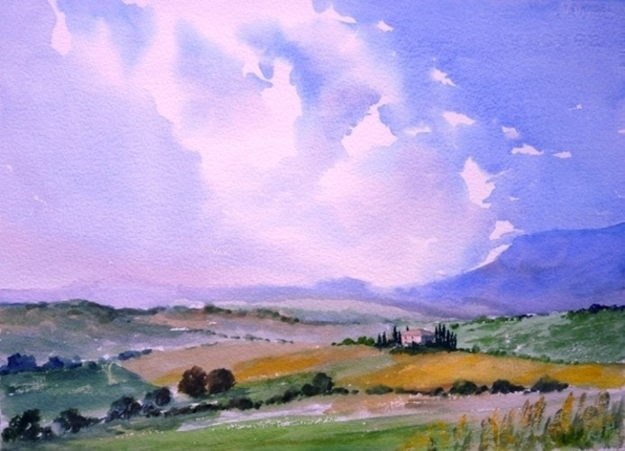 Tuscany - Val d'Orcia  -  Michael Trask