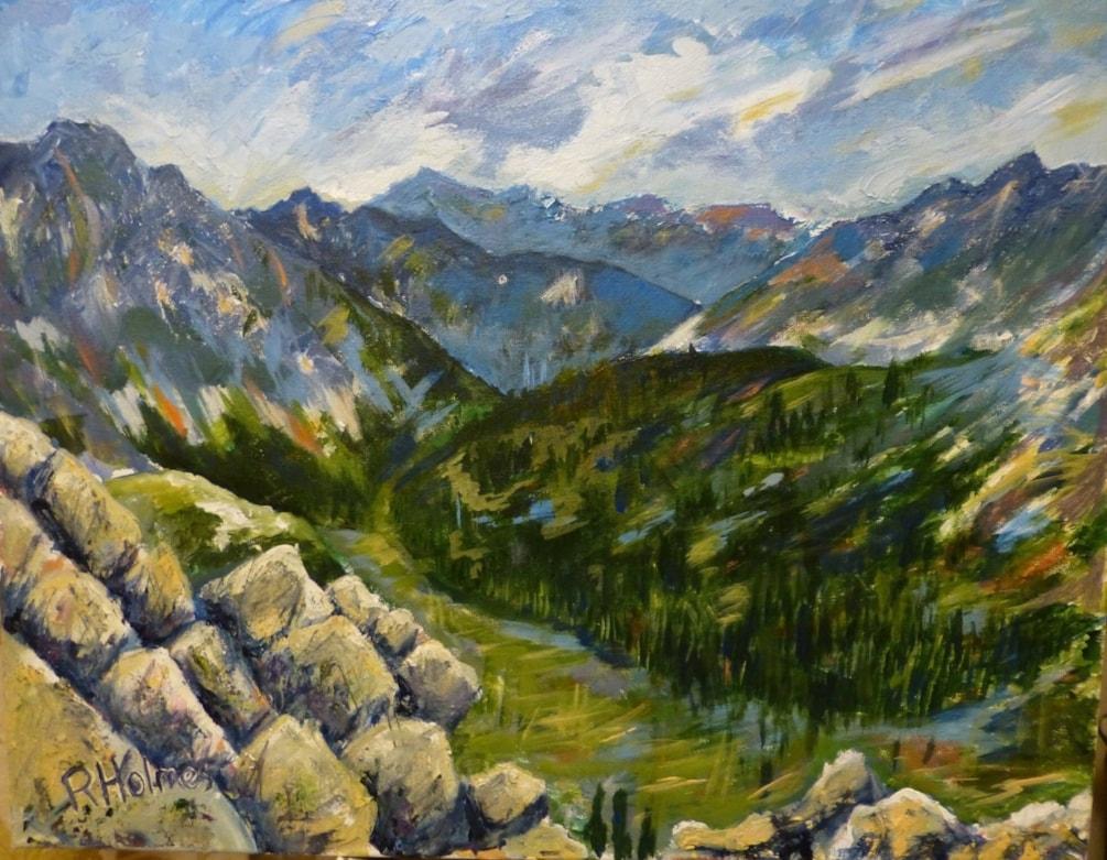 Austrian Alps from Nordkette