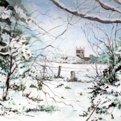 St Martins in winter