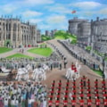 Harry and Meghan's Royal Wedding Procession - Windsor Castle