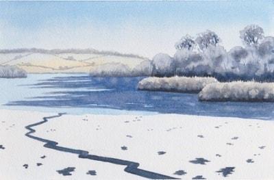 Frosty Morning Gartmorn Dam