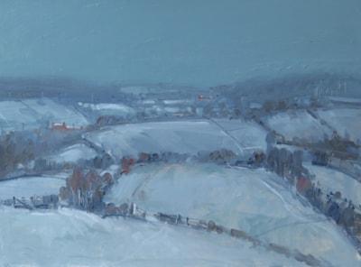 The Blackhills under Snow.