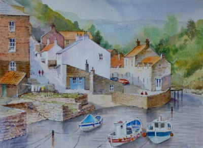 Tides in Staithes Beck