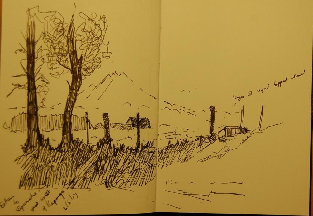 working sketch