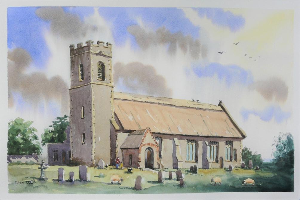 Pakefield Church, Suffolk.