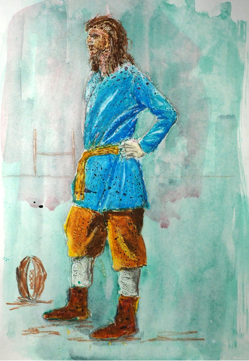 14th Century Rugby Player