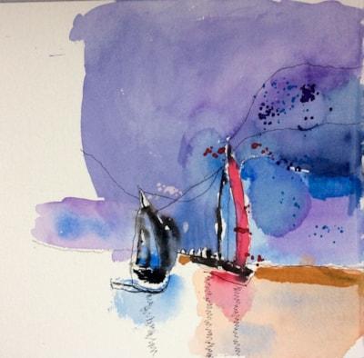 Sailing Boats - Cardigan Bay