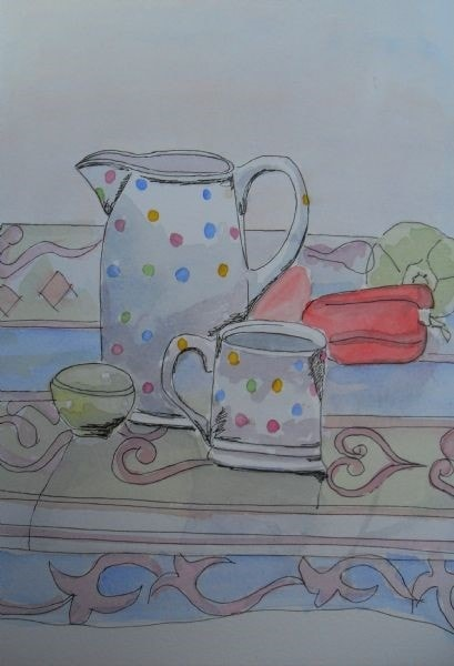 jug and cup