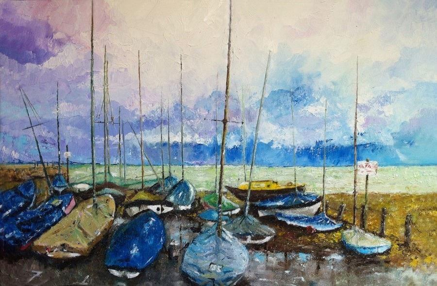 Storm coming (Lyme Regis)