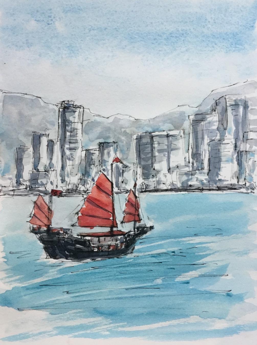 Victoria Harbour - Hong Kong