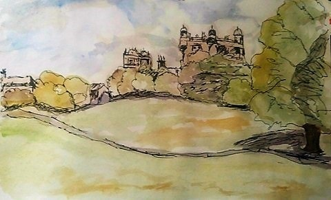 Wollaton Park - quick sketch