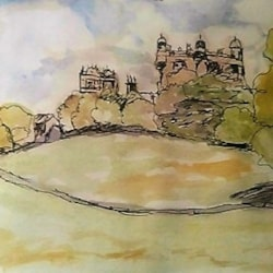 Wollaton Park - quick sketch