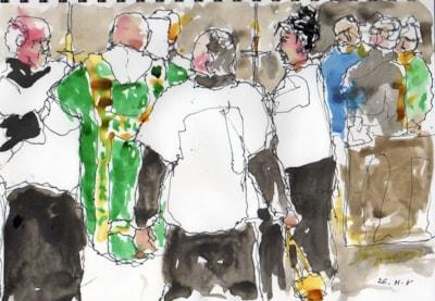 gospel procession 2