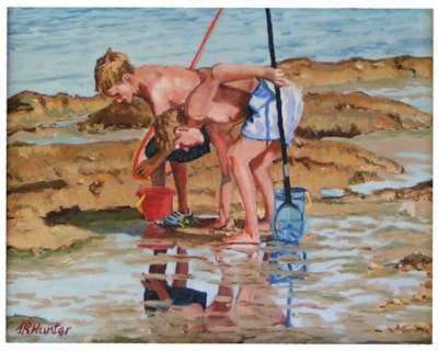 Shrimping 2, in Oil