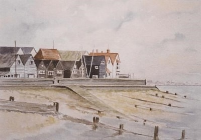 Reeves Beach. Whitstable.