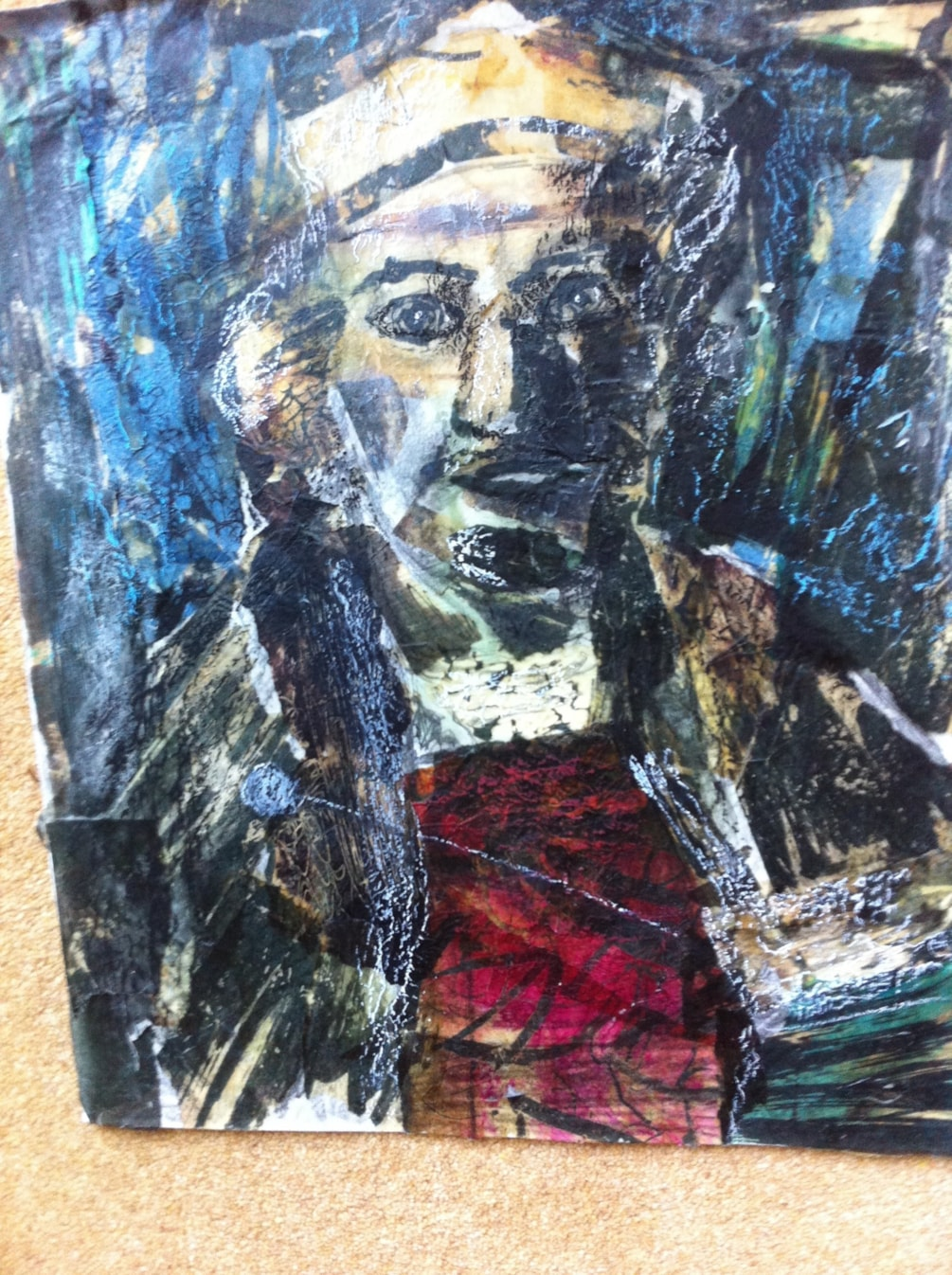 Batik on paper - Rembrandt