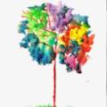 Quick Watercolour - Tree