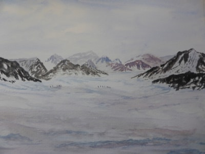 Snow Lake Karacoram Mountains