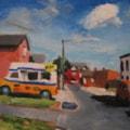 Liverpool painting No. 75.  Coleridge Street