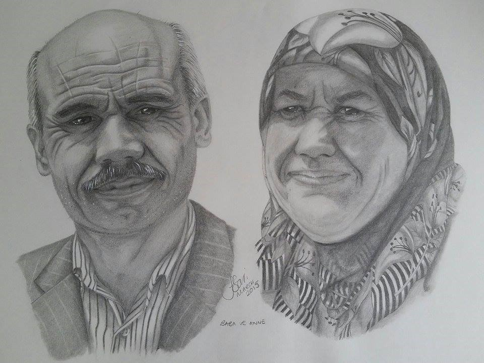 Baba ve Anne drawn in 2015