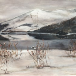 Snowy Loch Earn St.Fillans