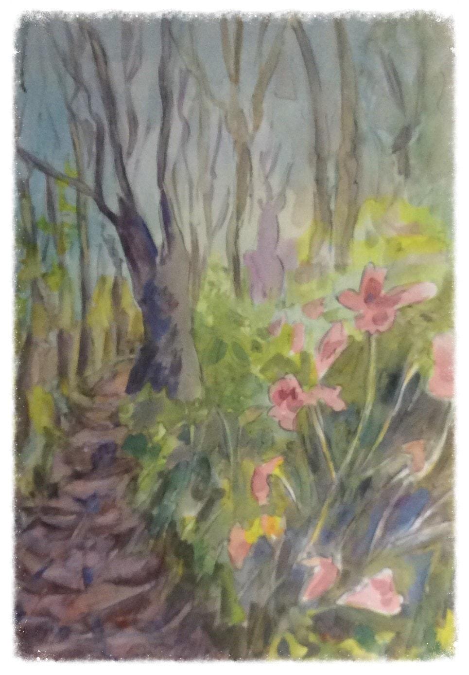 Floral Wood