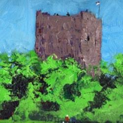"""dog day"" of July; Portchester castle"