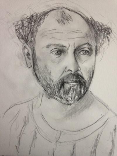 Study for Gustav Klimt