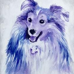 A Lassie dog