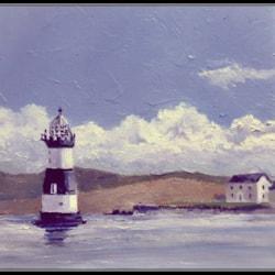 'Trwyn Du lighthouse' Penmon point.