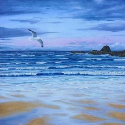 Flurries by Trow Rock