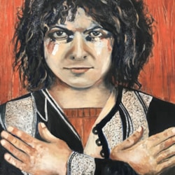 Marc Bolan, a bit of glam rock