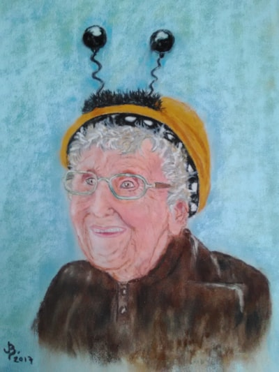 Jean Bishop 'The Bee Lady'