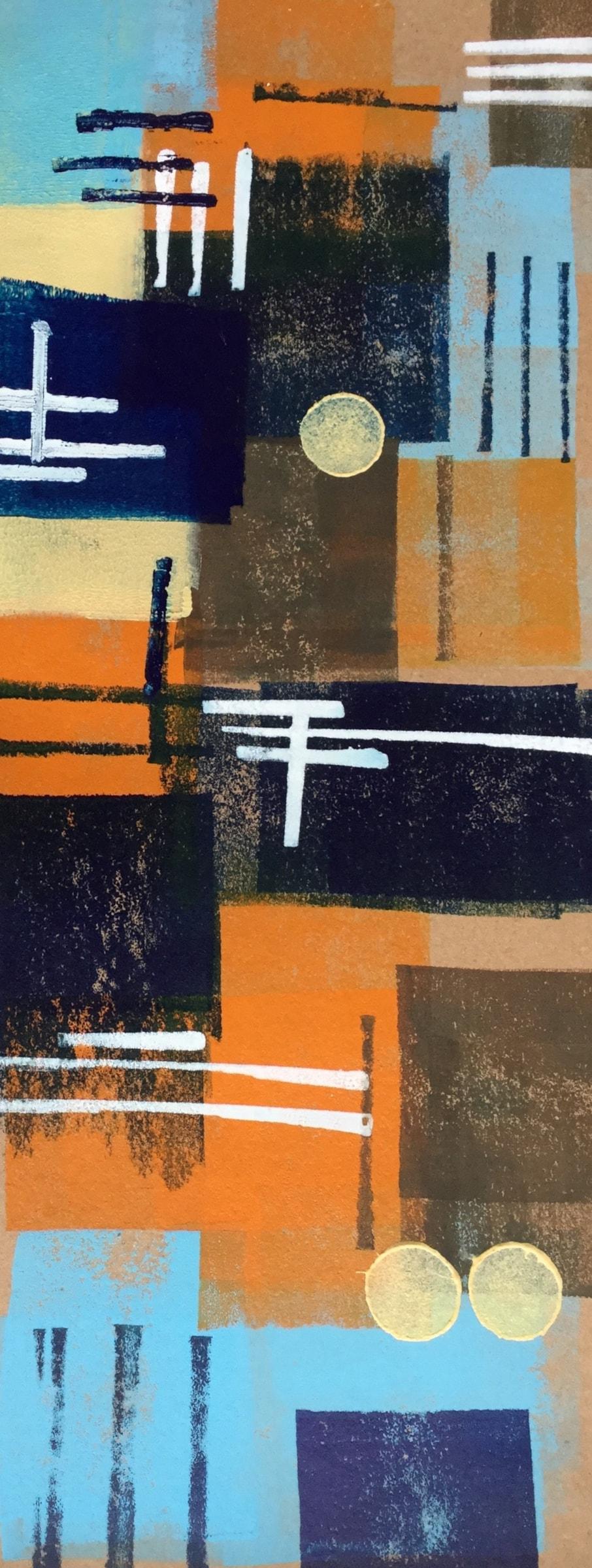 Blue Door Abstract...(project)