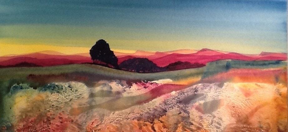 Undulating landscape