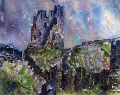 Scarborough Castle Keep