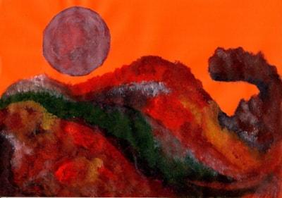 Nature - eruption of colour