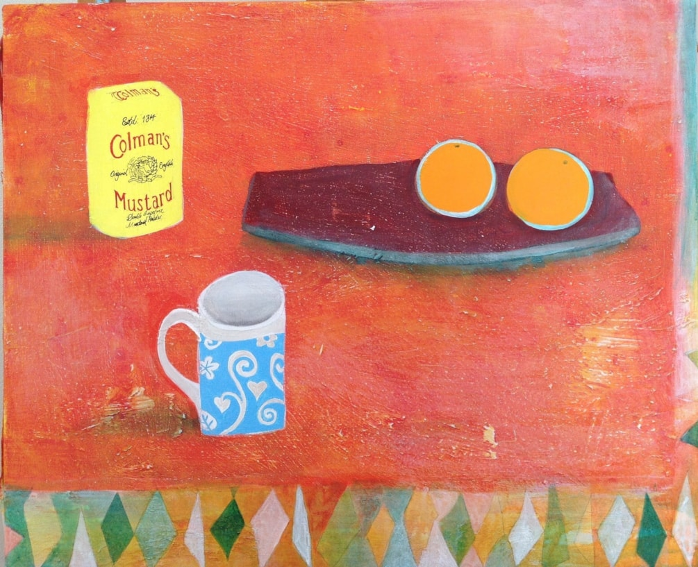 Still life with Mustard Tin