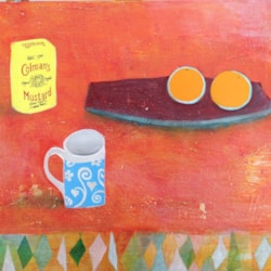 Still life with Mustard Tin