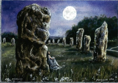 Magic Avebury by Moonlight.