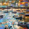 Mousehole Harbour work in progress