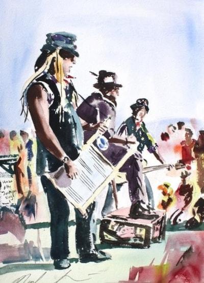 Hobo Jones & the Junkyard Dogs the Larmer Tree Festival 2010